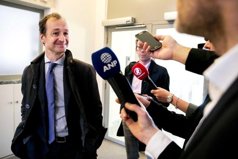 Eric Wiebes, minister van economische zaken en klimaat. Beeld ANP