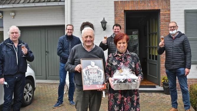 Ex-profrenner Eddy Cael wordt zaterdag 75, en dat laten ze in Wervik niet zomaar voorbijgaan...