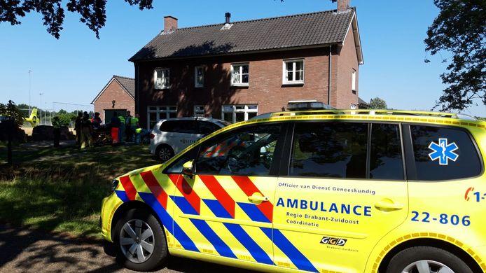 Ongeval Stipdonkseweg in Helmond.