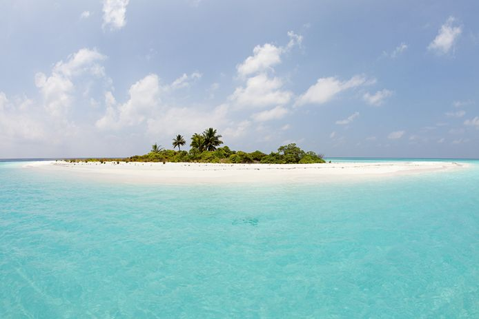 Mathidhoo Island, North Huvadhu Atoll, aux Maldives