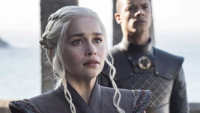 "Daenerys ""Khaleesi"" Targaryen dans Game of Thrones."