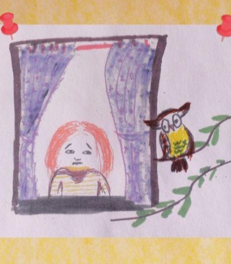 Zoontje (7) worstelt met coronavirus, dus komt kinderboekenschrijver uit Apeldoorn met een verhelderend boekje