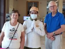 Henk en Reini uit Winterswijk zitten na reis met 'corona-cruise' vast in Cambodja