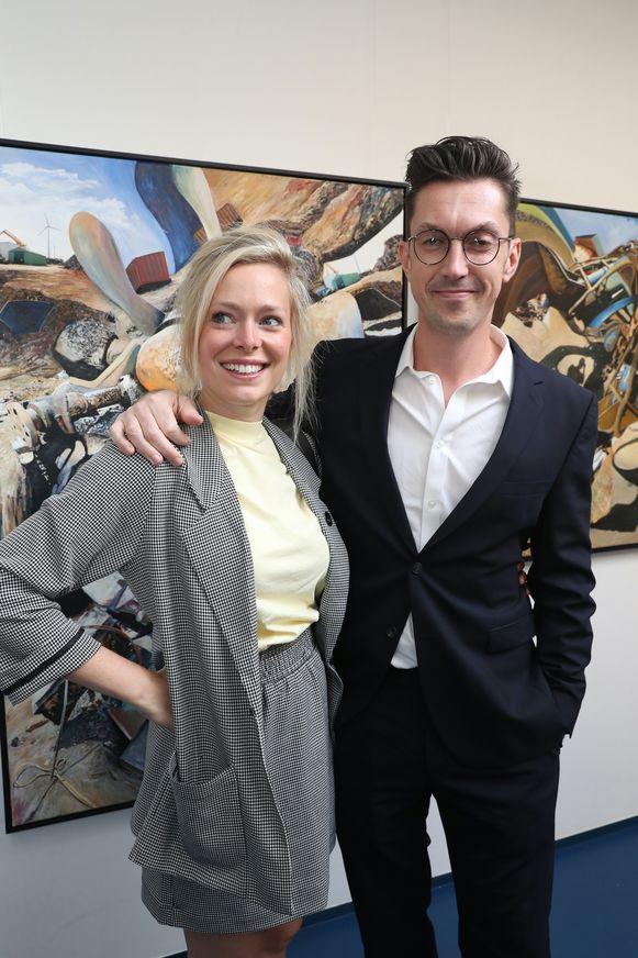 Steven Van Herreweghe en parter Katrien