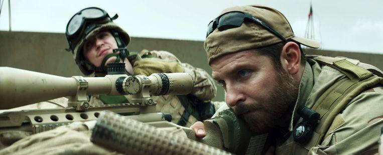 Bradley Cooper in actie in American Sniper. Beeld ap