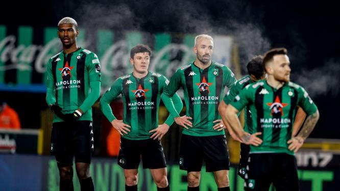 """Giulian Biancone ziet Cercle Brugge steeds dieper wegzakken: """"We kunnen de nul maar niet houden"""""""
