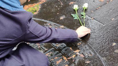 Jong CD&V legt witte rozen op vergeten graven