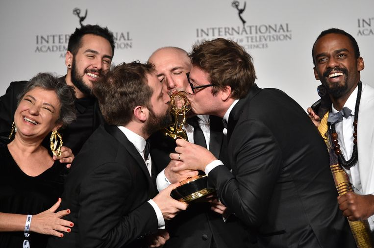De comedygroep won dit jaar nog een Emmy Award voor de film.