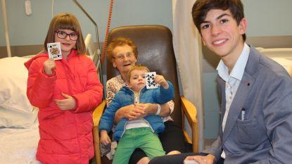 Goochelaar verrast patiënten in AZ Turnhout