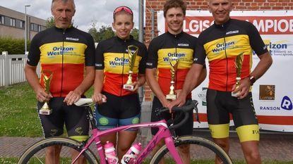 Stéphanie Lagache wint BK wielrennen voor bakkers