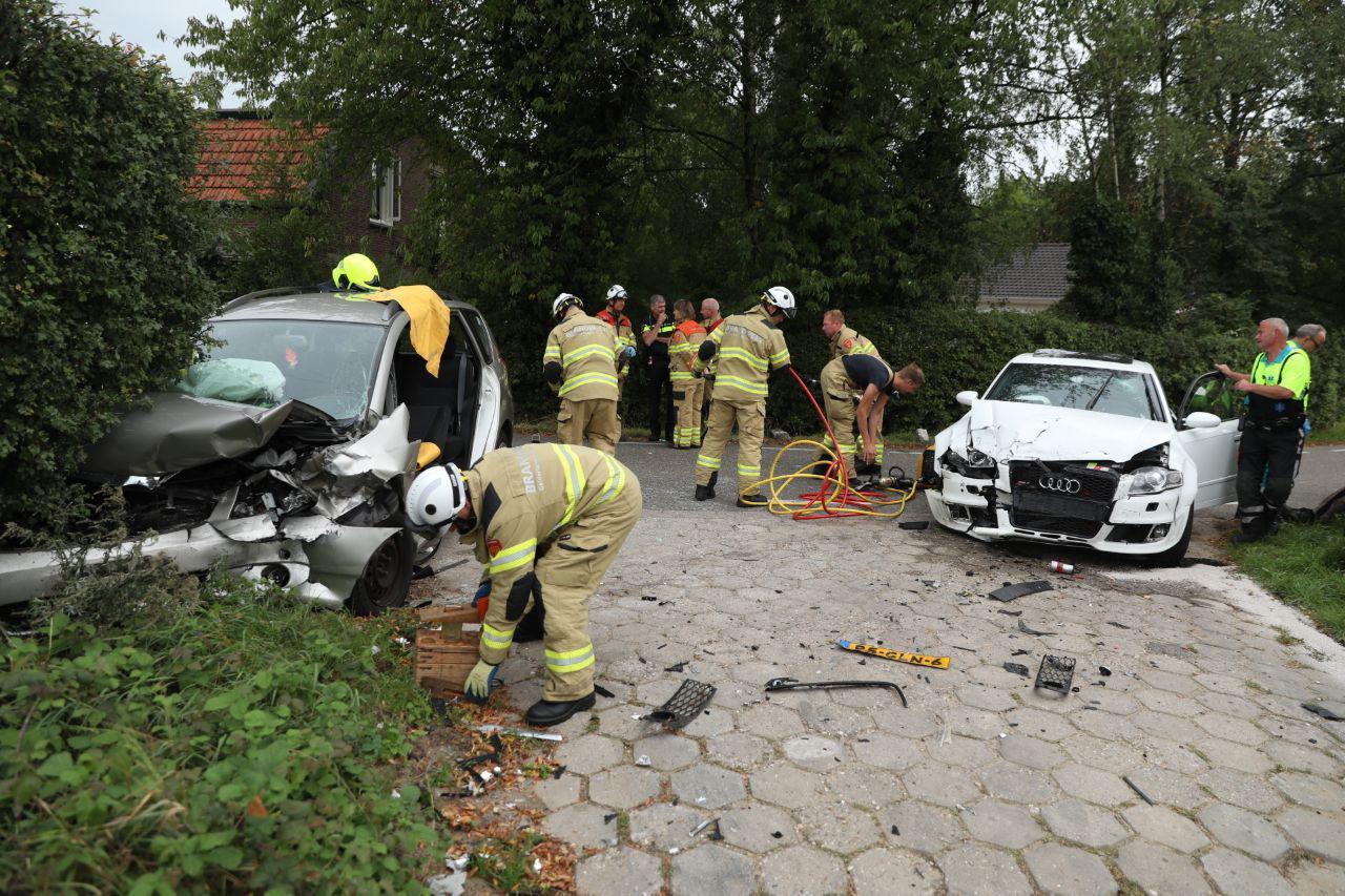 Veel hulpdiensten zijn uitgerukt voor het ongeluk in Westervoort