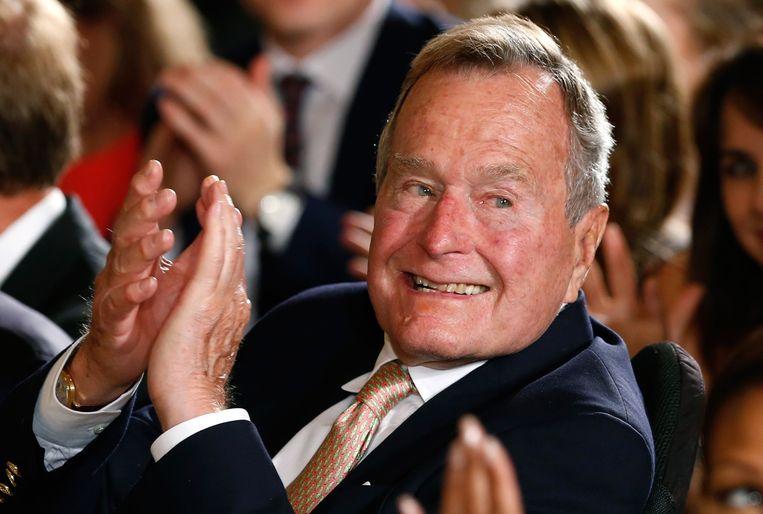 De 90-jarige George H.W. Bush Beeld REUTERS