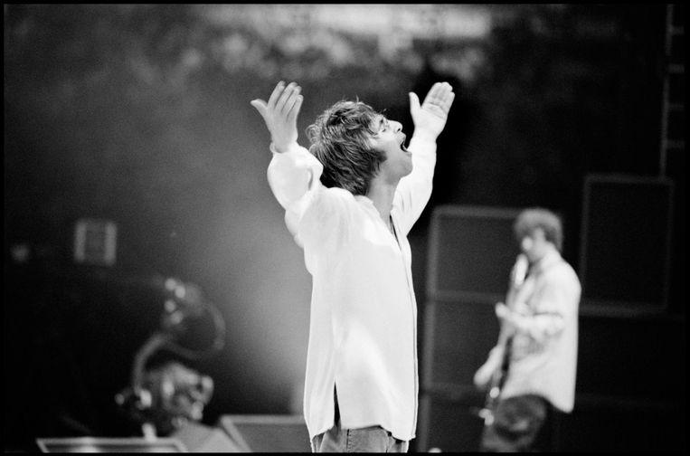 Oasis: Supersonic toont de opkomst en glorietijd van een van de grootste Britse bands ooit. Beeld