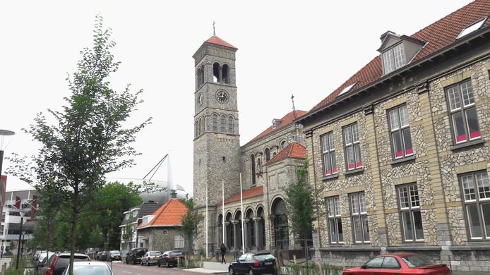 De Steentjeskerk aan de Antoniusstraat in Eindhoven.