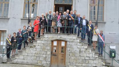 Burgemeester en klasgenoten vieren 60ste verjaardag