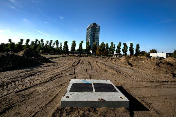 Vredeoord in Eindhoven, een van de projecten voor sociale woningbouw die wel in de planning staat.