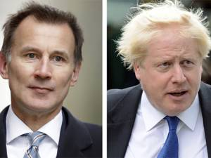 Boris Johnson et Jeremy Hunt en finale pour succéder à Theresa May