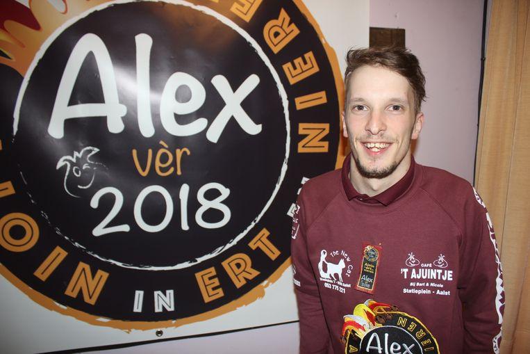 Alex De Kegel.