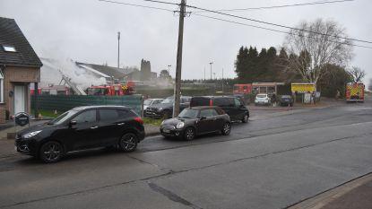 Zware brand vernielt cafetaria en douches sportcomplex Velina