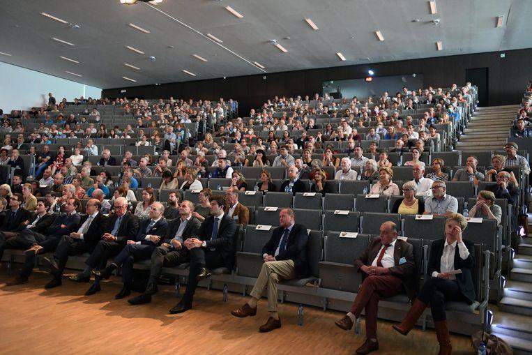 600 longtransplantpatiënten kwamen afgelopen weekend samen in Leuven.