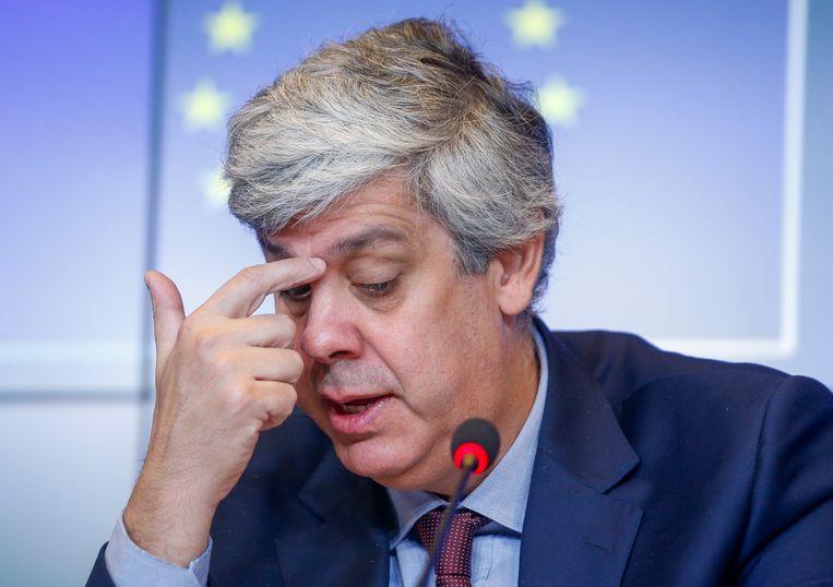 Mario Centeno, voorzitter van de Eurogroep.