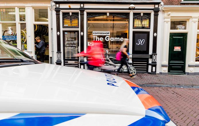 Coffeeshops The Game aan de Breestraat (foto) en The Future aan de Peperstraat zijn weer gesloten door de burgemeester.