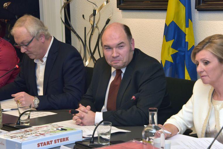 Burgemeester Bart Craane.
