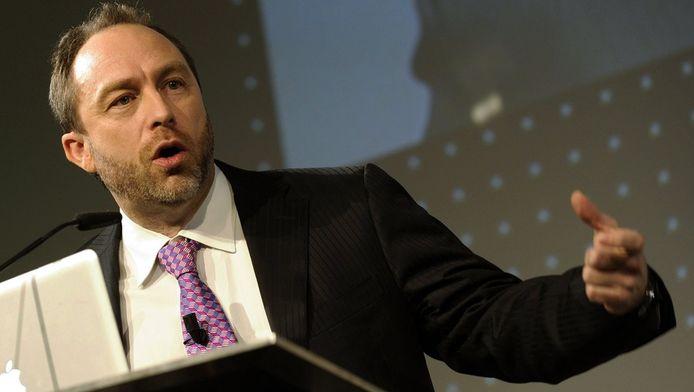 Wikipedia-oprichter Jimmy Wales. © EPA