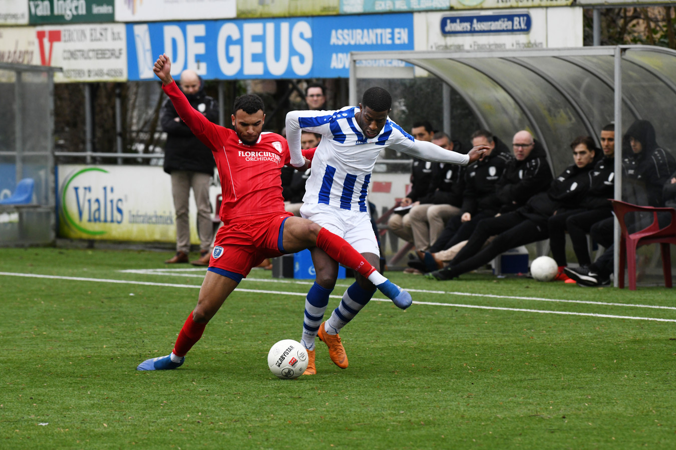 Guyon Fernandes van FC Lienden.