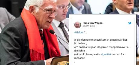 Raadslid Hans van Wegen schokt met vermeende racistische tweet: 'Weerzinwekkend, de overtreffende trap van vreemdelingenhaat'