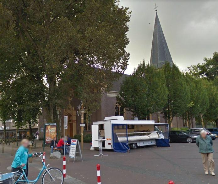 De Dorpskerk en het Marktplein in Vaassen
