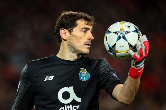 Iker Casillas in 2018.