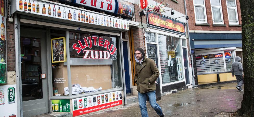 De campagne denderde aan Rotterdam-Zuid voorbij