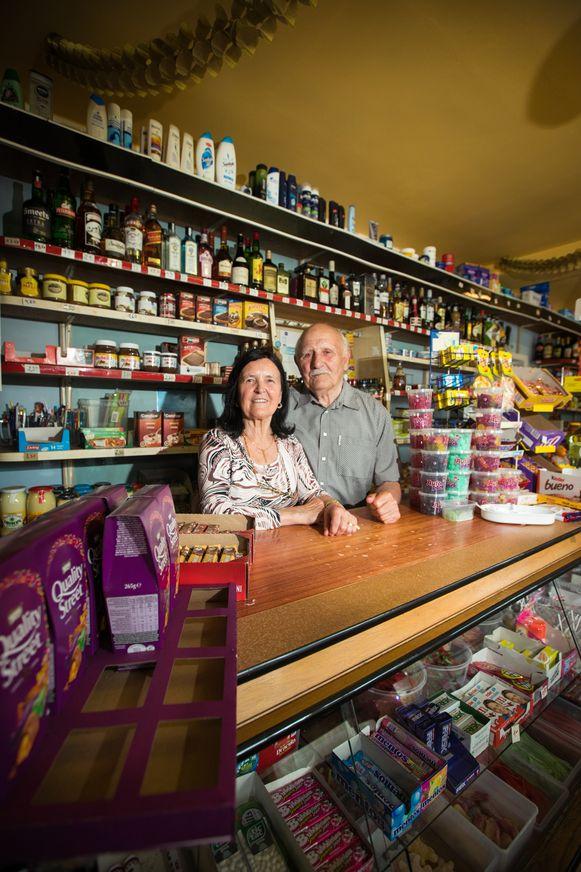 Rooske leerde haar man kennen in Thiewinkel.