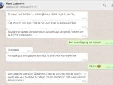 WhatsApp-verslag van de spannende stemdag voor Rucphense VVD'er René Lazeroms