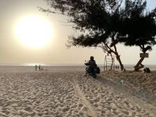 Vier motorrijders uit Kamerik vast in Senegal: 'We kunnen niet meer voor- of achteruit'