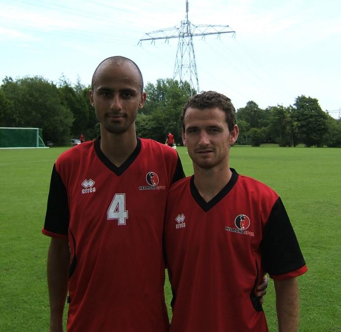 Philipp Haastrup (links) en Robbie Haemhouts