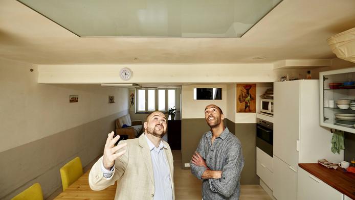 Amsata Bijl met directeur Niels van Lingen van het bedrijf Thermiq.
