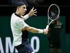 Griekspoor naar tweede ronde kwalificatie US Open