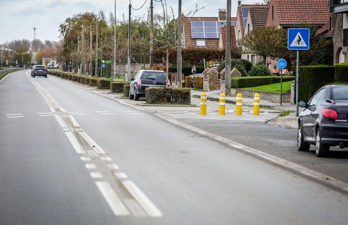 Het volledige traject van de Vaartstraat, van aan de Goedeboterstraat tot in Plassendale, wordt voorzien van trajectcontrole.