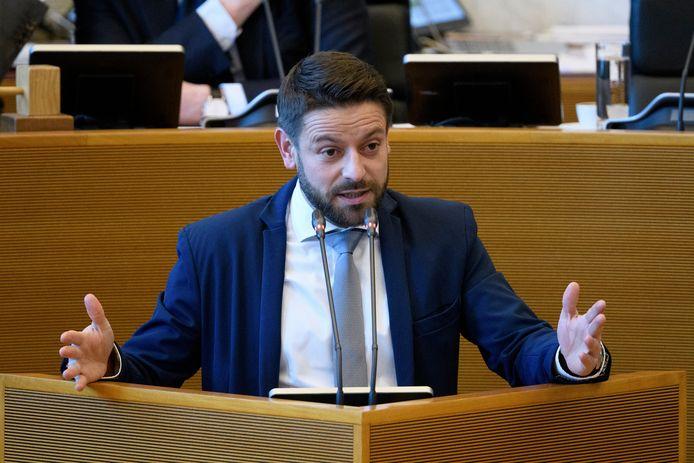 Julien Matagne (cdH) au Parlement Wallon