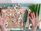 Zo snijd je je champignons binnen één seconde!