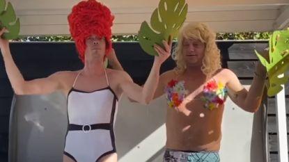Speel eens een dagje Efteling na in je achtertuin: hilarische Nederlanders gaan viraal