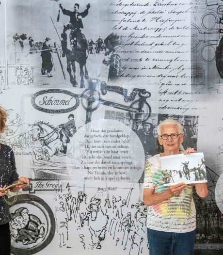 Wand vol herinneringen en Vlissingse poëzie in Scheldehof