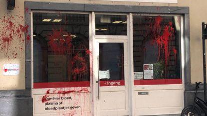 "Gents donorcentrum besmeurd met nepbloed om ""transfoob""  beleid Rode Kruis"