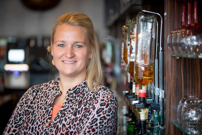 Ondernemer Fleur Braakman, eigenaar van Grand Café Toi Toi.