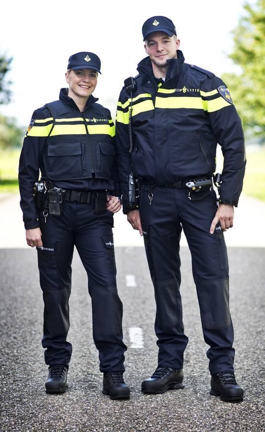 Het nieuwe politieuniform.