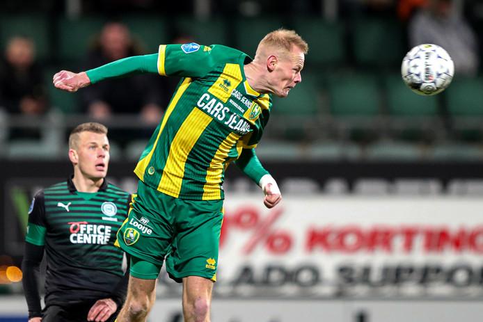 Tom Beugelsdijk brak in december in de wedstrijd tegen FC Groningen zijn pols.