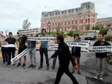 """Un """"contre-sommet"""" du G7 à la frontière franco-espagnole"""