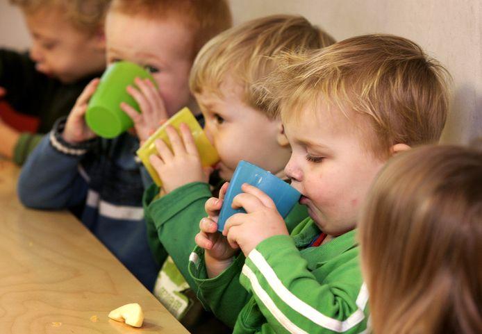 Kinderen op een peuteropvang in Nederland